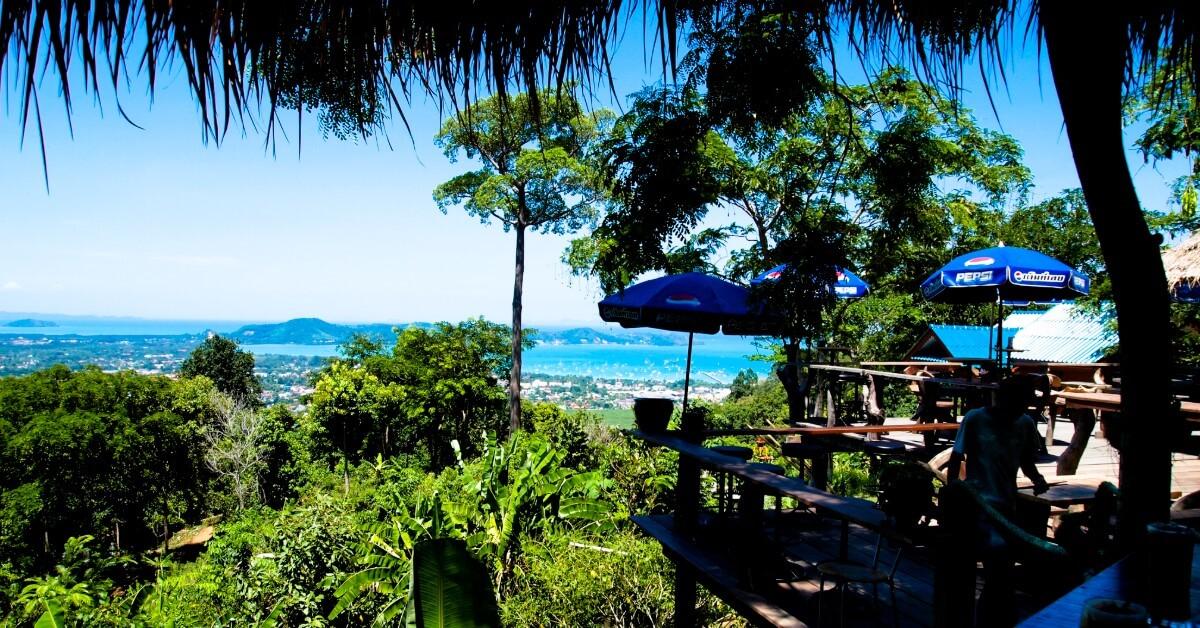 Patong Mountain in Phuket Thailand